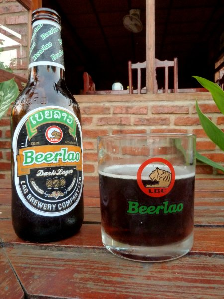 Beer Laos dark
