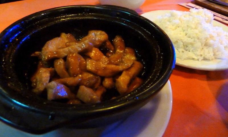 Caramel pork
